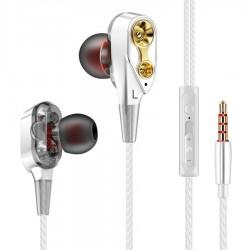 3,5 mm in-ear bedrade oordopjes - stereohoofdtelefoon met microfoon