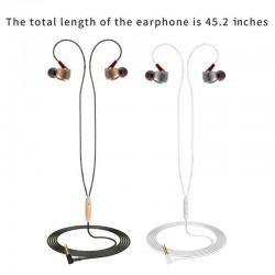 3,5 mm - sportoortelefoons - bedraad - super bas - koptelefoon met microfoon