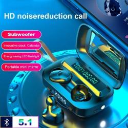 TWS - draadloos - Bluetooth mini-oortelefoon - waterdicht - LED-display