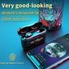 G40 TWS - Bluetooth-oortelefoon - 9D-geluid - waterdichte hoofdtelefoon met microfoon