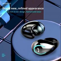 YX08 TWS - draadloze Bluetooth-oortelefoon - ruisonderdrukking - LED - headset met één oor