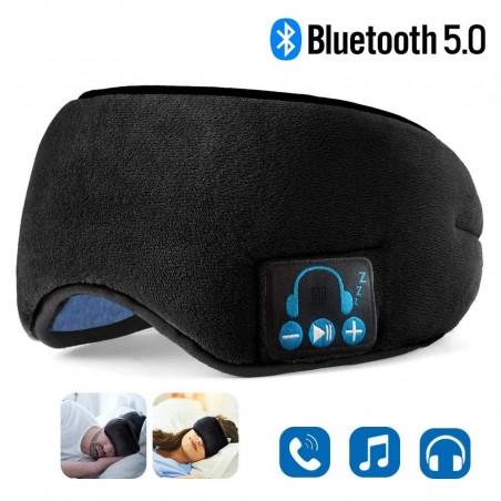 Bluetooth - draadloze hoofdtelefoon - slaapoogmasker met microfoon
