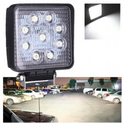 Led Truck Boat Car Tractor 24W 2500 Lumen Light