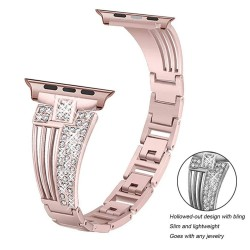 Stainless steel strap - crystal bracelet for Apple Watch 6/5/4/3/2