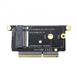 A1708 - SSD - NVMe PCI Express PCIE to NGFF M2 SSD adapter card - M.2 for Macbook Pro Retina 13""