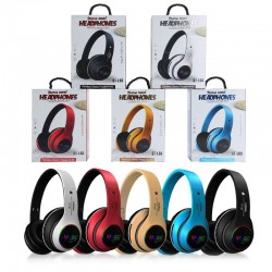 Bluetooth headset - noise canceling - wireless headphones - LED