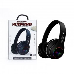 Bluetooth-headset - ruisonderdrukking - draadloze hoofdtelefoon - LED