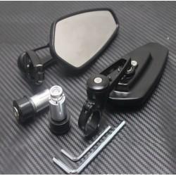 Universal Motorcycle Aluminium Bar End Mirrors