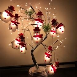 String met sneeuwmannen - LED kerstboom decoratieve verlichting