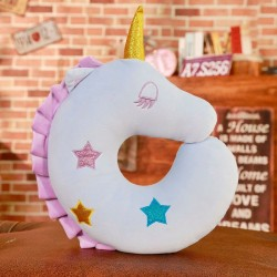 U shaped unicorn - plush