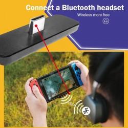 Draadloos - Bluetooth - USB-C - adapter - audio-ontvanger - zender - converter voor Nintendo Switch - PS4 - PC