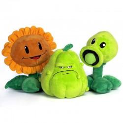 Zombie plants - peas - sunflower - squash - plush toys - 30cm