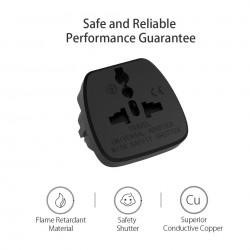 Universal travel adapter - EU plug