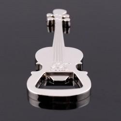 Flaschenöffner aus Edelstahl - Gitarrenform