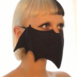 Mund- / Gesichtsschutzmaske - wiederverwendbar - waschbar - Fledermausstil