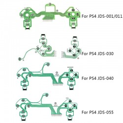PS4 Dualshock 4 Pro Slim Controller - vervangende knoppen - printplaat - geleidende film - flexibele kabel