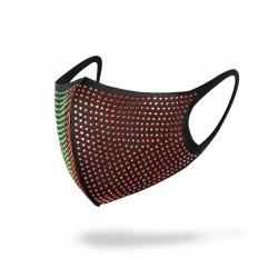 Mund- / Gesichtsschutzmasken - wiederverwendbar - Diamantdekoration