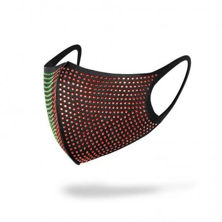 Mouth / face protective masks - reusable - diamond decoration