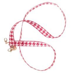 Multifunctionele katoenen ketting - houder voor brillen / gezichtsmaskers - decoratief koord