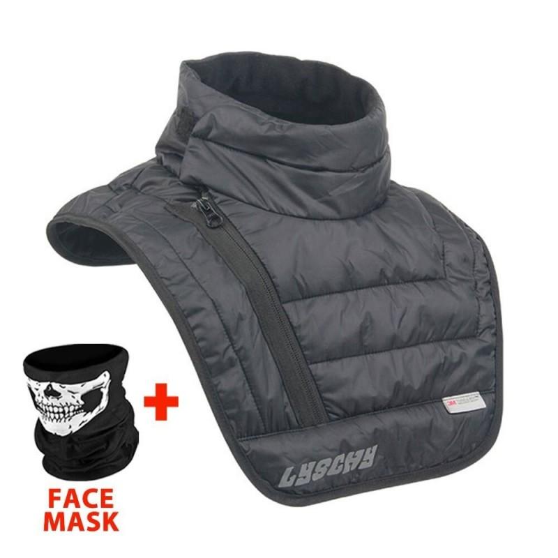 Motorcycle warm scarf - neck / chest shield - face mask - balaclava - waterproof - windproof