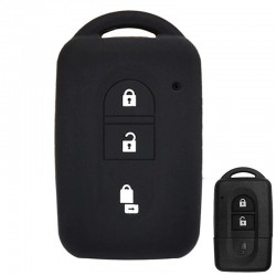 Siliconen sleutelhoesje - Nissan - Qashqai - Micra - Juke - X-Trail - Navara