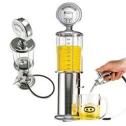 Alcohol liquor dispenser - gas pump design