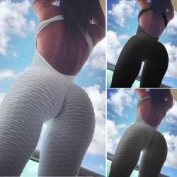 Sleeveless jumpsuit for women - one piece bodysuit
