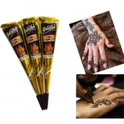 Henna tattoo paste - hand-painted - skin art