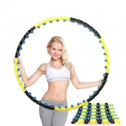 Double row magnetic hula hoop - fitness massage - cardio equipment