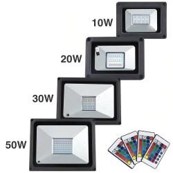 LED schijnwerper - buitenreflector - waterdicht - 20W - 30W - 50W