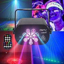 RGB - LED - disco / party light - mini laser projector - USB