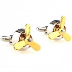 Propellers - cufflinks - 2 pieces