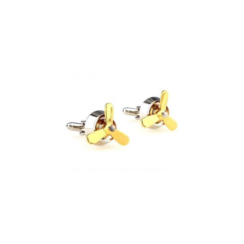 Propeller cufflinks - 2pcs