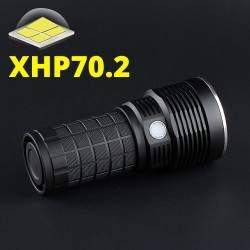 4X18A - CREE XHP70.2 - 4300lm - flashlight - with temperature control - type-C USB interface