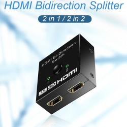 HDMI bi-direction splitter - 4K - 1080p