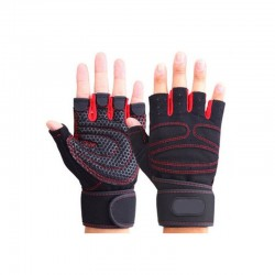 Half finger gym gloves - weight lifting - training - fitness