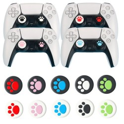 PS5 - PS4 - PS3 - thumb stick grip cap - joystick cover case - cat paw - 2 pieces