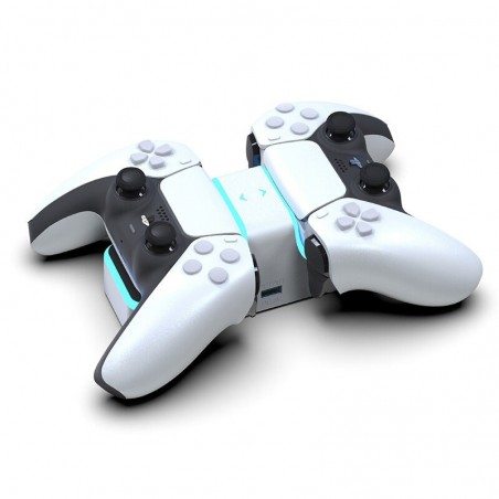 PS5 Wireless Controller - USB-C - dubbele oplader - snel opladen - met LED-indicator