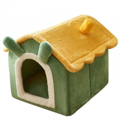 Dog / cat house - sleeping bed - kennel - washable - with blanket