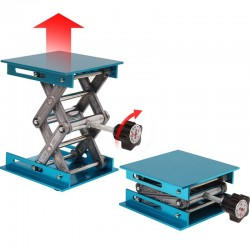 100x100mm - aluminum router - lift table - woodworking engraving lab - lifting stand rack - platform