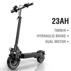 Electric scooter - 2000W - 70km/h - dual motor - hydraulic brake - foldable