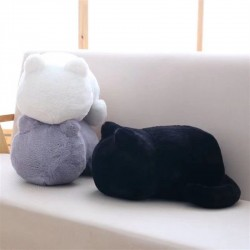 Cat shaped pillow - plush toy