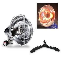 Outdoor / camping heater - detachable infrared ray warmer