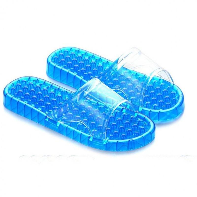 Transparent flip flops - sandals - non-slip - foot massage - pain relief - unisex