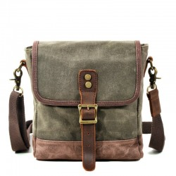 Crossbody / shoulder bag - with buckles - unisex