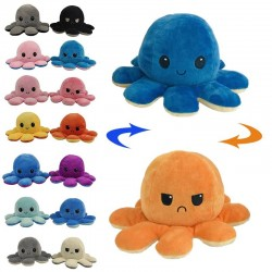 Reversible octopus - plush toy
