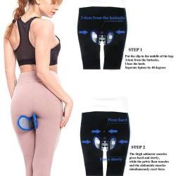 Pelvic floor muscle inner thigh exerciser - hip / butt trainer