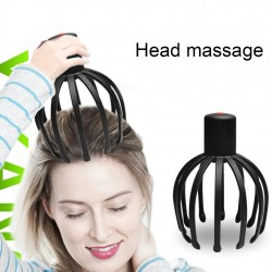 Electric scalp massager - octopus claw shape - therapeutic - stress relief