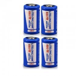 Cr2 880mah lithium batterij - oplaadbaar - LiFePO4 - 4-12 stuks