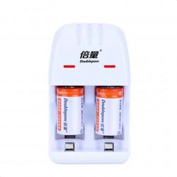 2pcs Cr2 rechargeable...